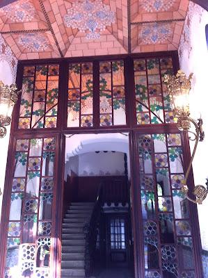 Ornate Entrance at Casa Pinxos - Barcelona Sights