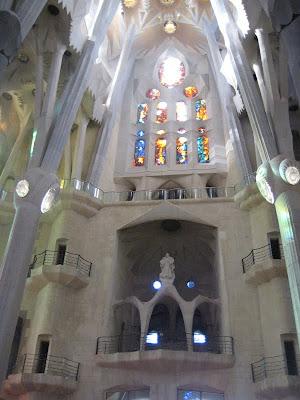 Sagrada Familia Stained Glass Windows - Barcelona Sights