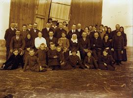 Żelazkowie i Zielazkowie ,Palędzie ok 1923 roku