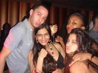Sonam Kapoor Partying