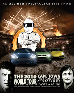 Top Gear is coming to Cape Town