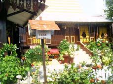 Typical Malay house in Melaka - Malaysia 2008