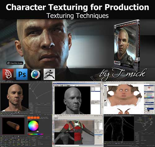 Character Texturing for Production Texturing Techniques