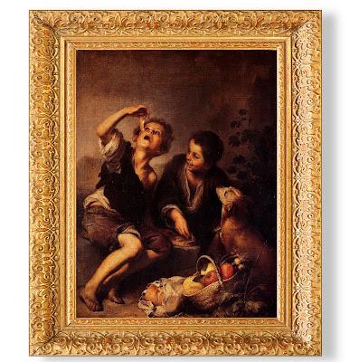 Bartolomé Esteban Murillo: Nens menjant panada