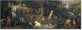 Jan Brueghel. Jardí de l'Edén