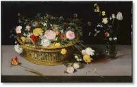 Jan Brueghel el Vell. Cistell amb flors