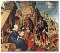 Albrecht Dürer.L'Adoració dels Mags