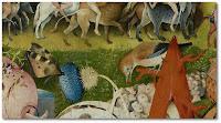 Hieronymus Bosch. El jardí de les delícies (detall)