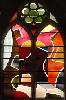 Vitrall de l'església de Sant Pere i Sant Pau, de Villenauxe-la-Grande.