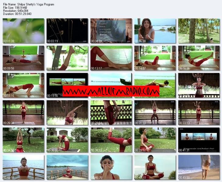 Shilpa Shetty Yoga Program Hot