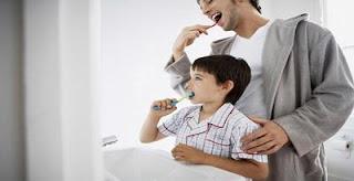 menyikat gigi