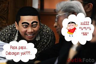 sinchan+gayus Foto Foto Lucu Mirip Gayus Terbaru