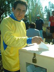 """PRESIDENTE DEL CLUB DEPORTIVO CULTURAL """"HURACAN VILLA EL ABRAZO DE MAIPU"""" PARA EL PERIODO 2009-2011"""