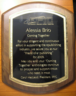 EPIC's Friend of e-publishing award