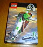 star wars lego 7144 Slave I box