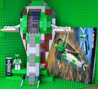 star wars lego boba fetts slave 1 complete