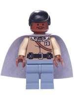 star wars lego 7754 rare minifig Lando Calrissian
