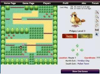 Free Pokemon MMORPG - PokemonCraft GBA