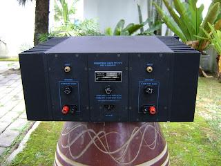 Robertson Audio Sixty Ten Power Amp ( sold ) R+A+60.2