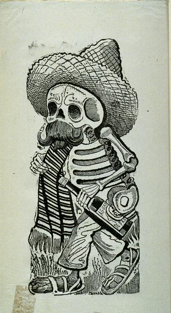 day of dead skull drawing. Day of the Dead