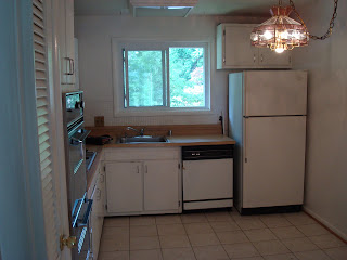 Foreclosure Kitchen Renovation Before Picture