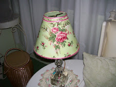 Quickie lampshade covered