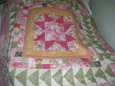 Medallion style quilt