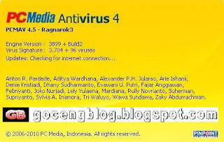 DOWNLOAD ANTIVIRUS PCMAV TERBARU 4.5 DESEMBER 2010