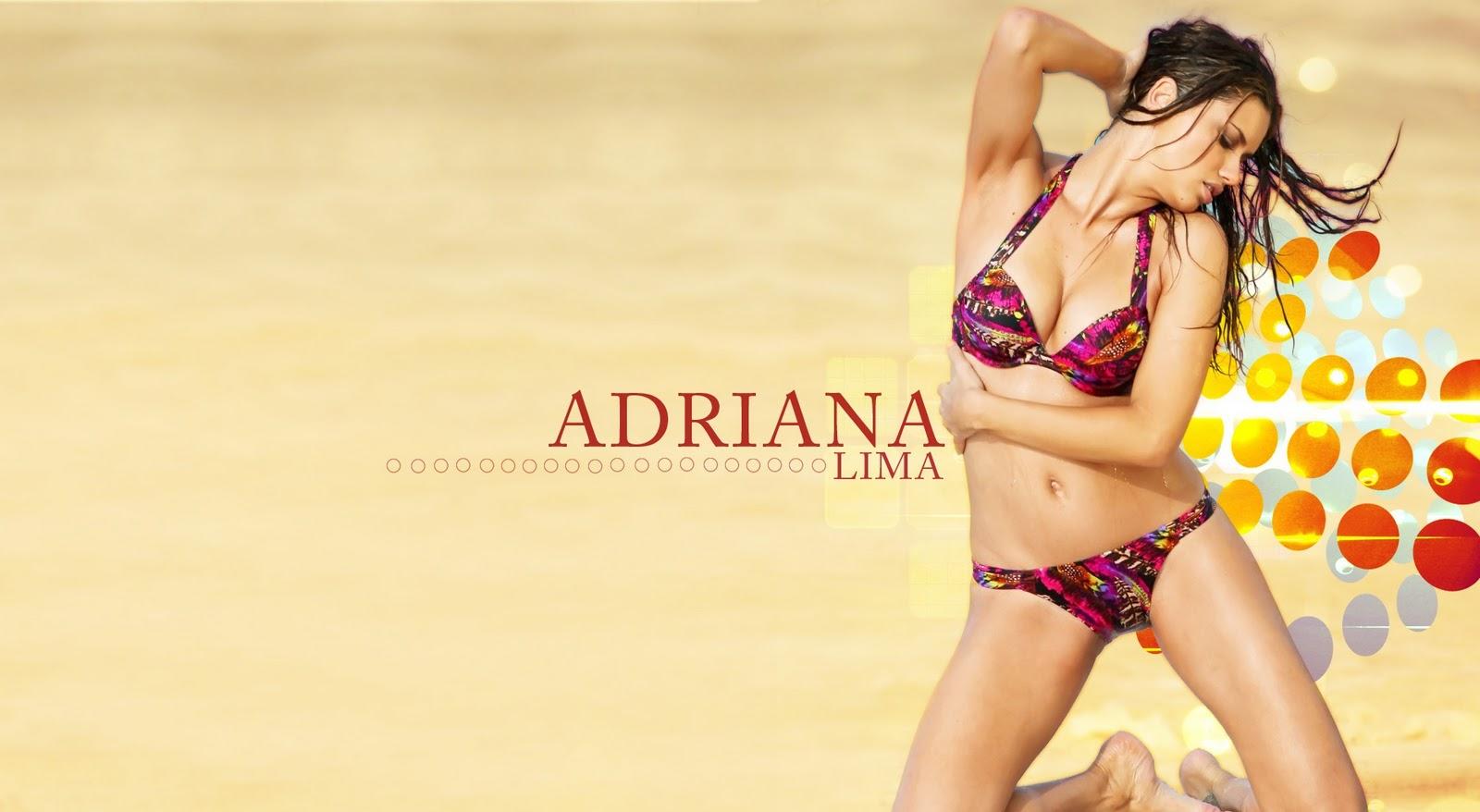 adriana lima s hot wallpaper