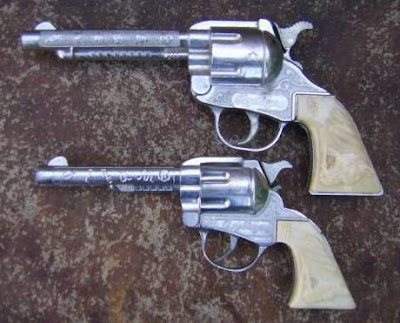 dollar store cap gun. Roy Rogers cap guns,