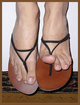 Sexy sandals Thongs Models