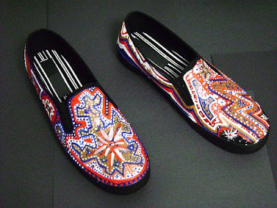 Women Hand-Painted Shoes