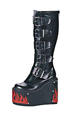 Gothic  Punk Platform Boots