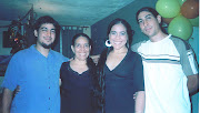 Noel, Elsia, Maritza y Juan