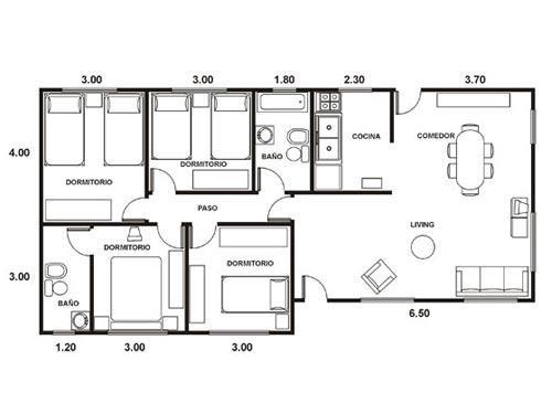 Deack trdzqkomania vista aerea y acotaciones for Creador de planos sencillos para viviendas y locales