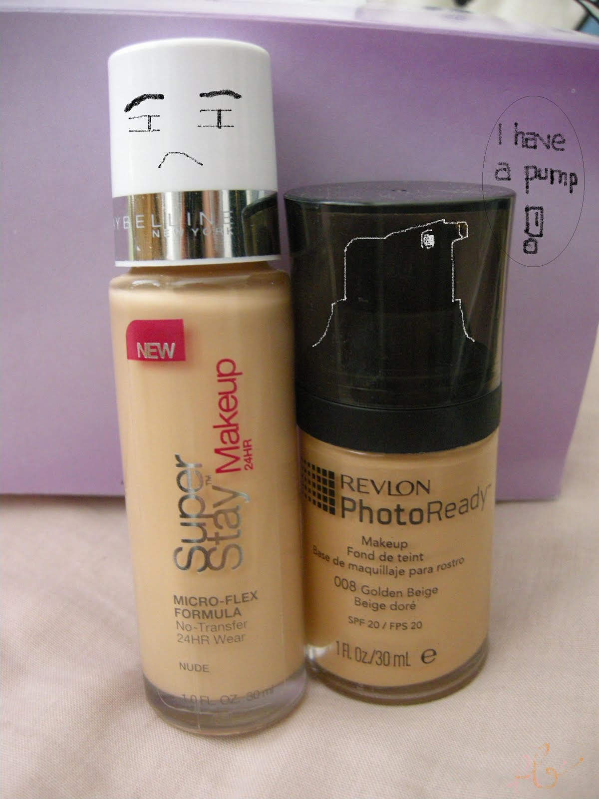 Blushfully the Blog: Foundation Swatch Compare: Maybelline ...