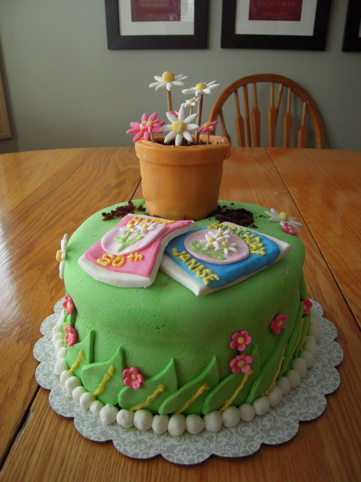 Garden Party Cake Images :