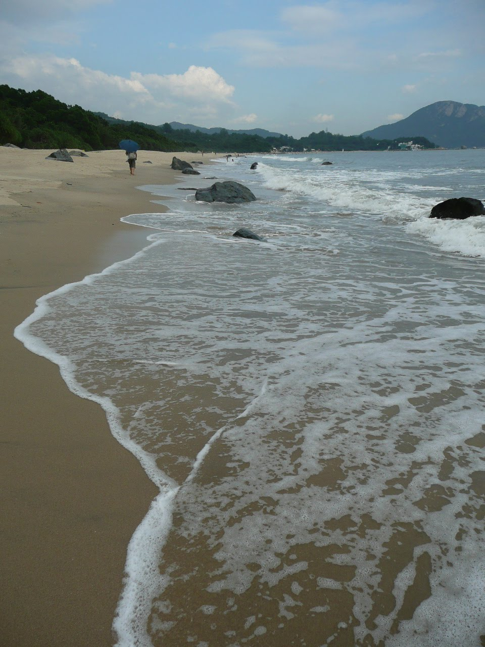 how to get to cheung sha beach
