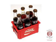 Garrafinhas coca cola