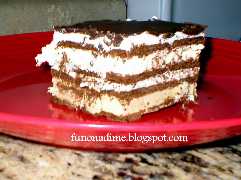 Cake Ice Cream Simple : Easy Ice Cream Cake Recipe Fun On a Dime