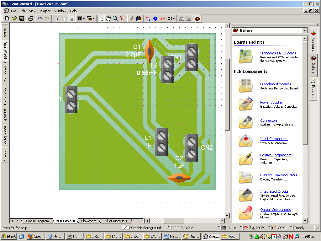 Speaker Design  Component Layout Diagram