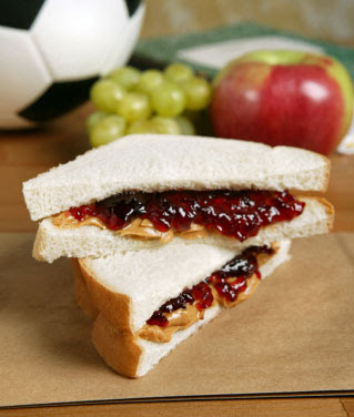 undecided ill peanut butter jelly sandwich mmmmm