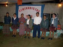 PRESENTACION DE ALUMNOS SEMINARISTAS EN LA ACTIVIDAD