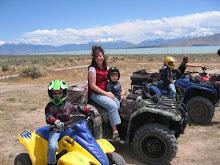 4 wheelin' with the kids!