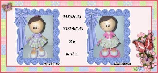 Minhas Bonecas de E V A