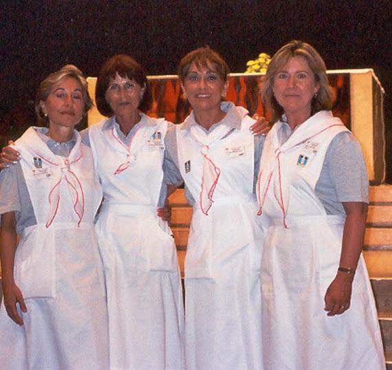 Nosotras, Voluntarias en Lourdes