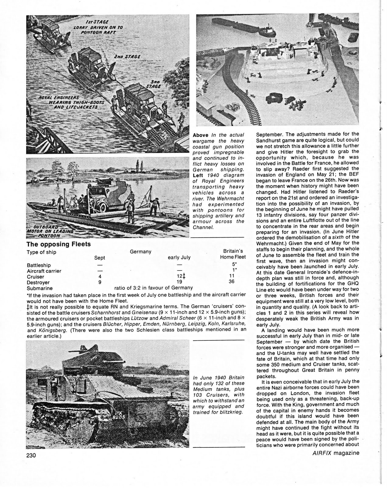 vintage wargaming wargaming operation sealion by terry wise from rh vintagewargaming blogspot com Airfix Magazine Subscription airfix magazine guides russian tanks pdf