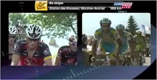 Note how AC has a domestique pulling him along because he is in contention.