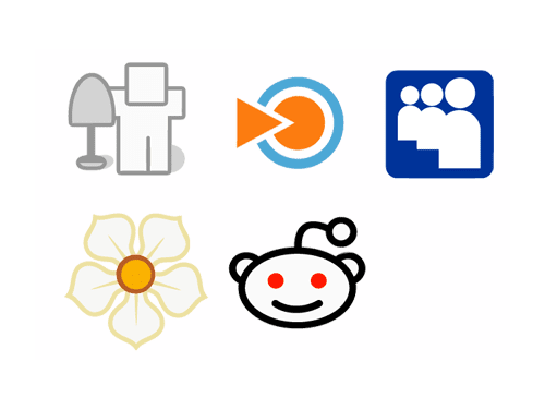 Web 2.0 Services Icon Package