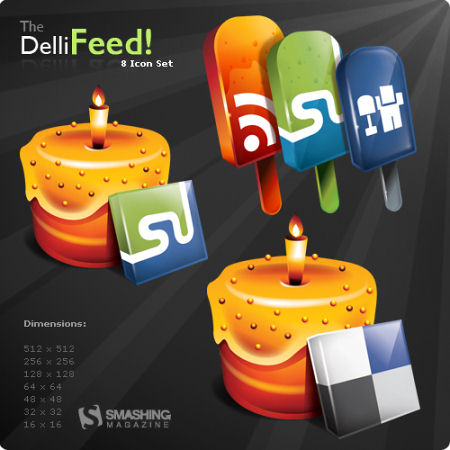 Dellifeed: A Free Icon Set